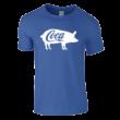 Coca póló (királykék)