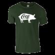 Coca póló (sötétzöld)
