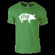 Coca póló (zöld)