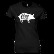 Coca női póló (fekete)