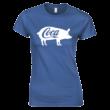 Coca női póló (királykék)