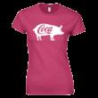 Coca női póló (rózsaszín)