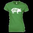 Coca női póló (zöld)