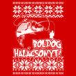 Boldog Halácsonyt (piros)