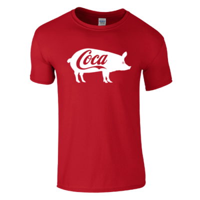 Coca póló (piros)