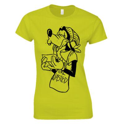 Goofy női póló (citrom)