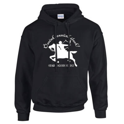 Őseink bennünk élnek pulóver (Fekete)