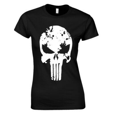 Megtorló női póló (Fekete)