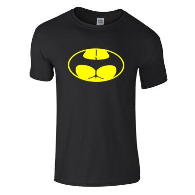 Buttman póló (fekete)