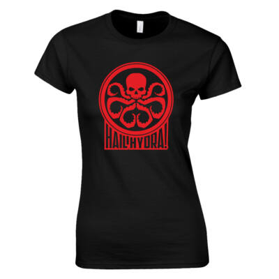 Hydra női póló (fekete)