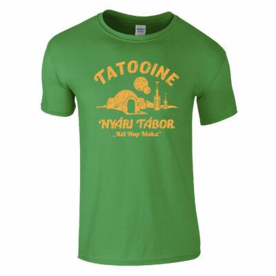 Tatooine - Nyári tábor póló (Zöld)