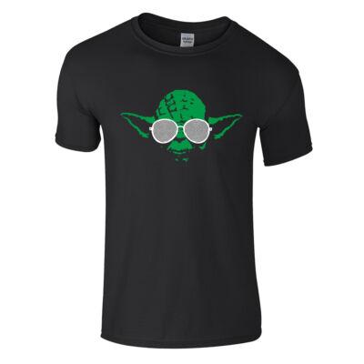 Hypno Yoda póló (Fekete)