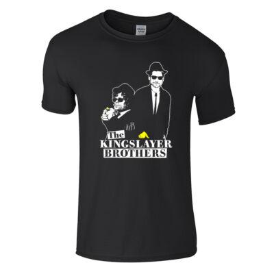 Kingslayer Brothers póló (fekete)