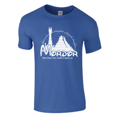 Mordor póló (Királykék)