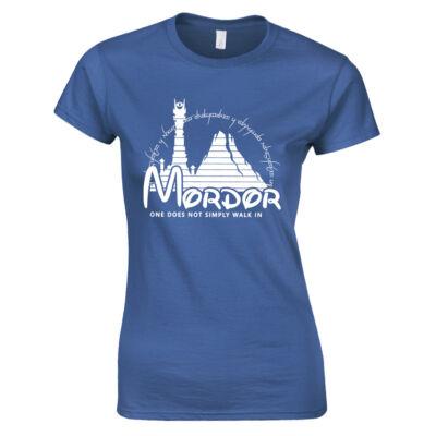 Mordor női póló (Királykék)