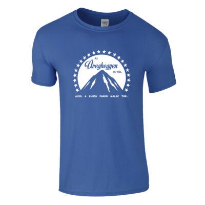Paramount - Üveghegy póló (királykék)