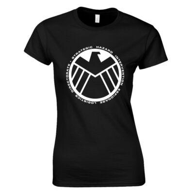 Shield női póló (Fekete)