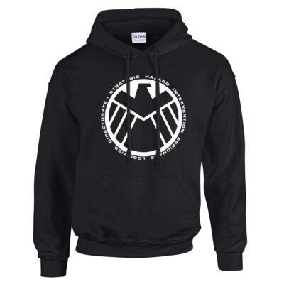 Shield pulóver (Fekete)