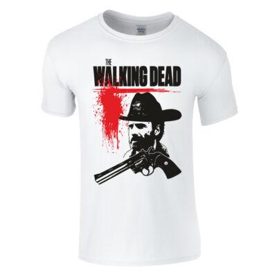Walking Dead - Rick póló (Fehér)