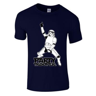 Party Trooper póló (Sötétkék)