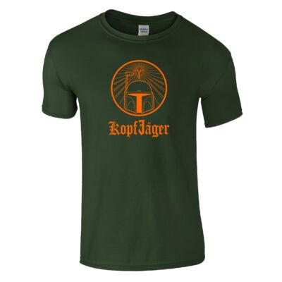 Kopfjager póló (sötétzöld)