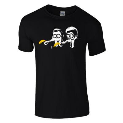 Minion Fiction póló (Fekete)