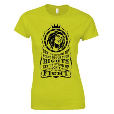 Bob Marley női póló (citrom)