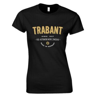Trabant Since 1957 női póló (fekete)