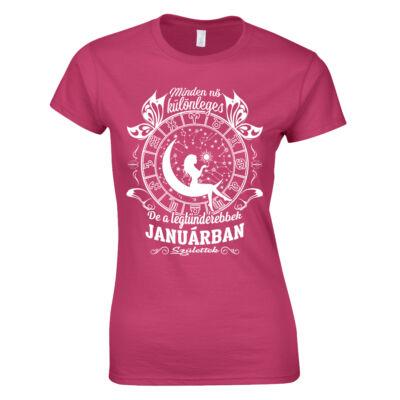Tündéri nők - születésnapi női póló (Rózsaszín)