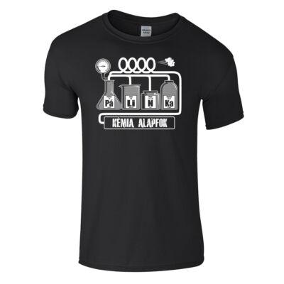 Pálinka - Kémia alapfok póló (fekete)