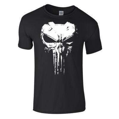 Punisher póló (fekete)