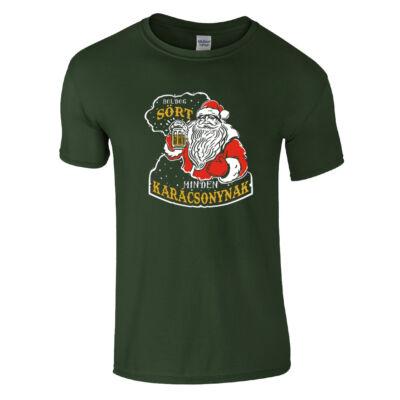 Boldog Sört Minden Karácsonynak (sötétzöld)
