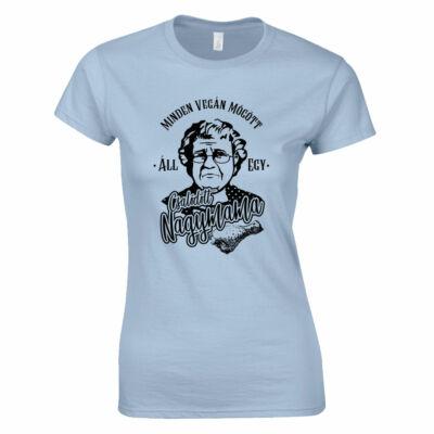 Csalódott nagymama női póló (világoskék)