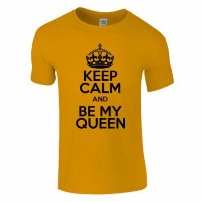 Be my queen póló (narancs)