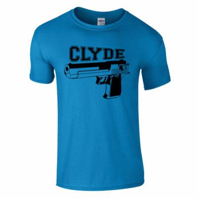 Clyde póló (türkiz)