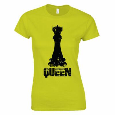 Chess queen női póló (citrom)