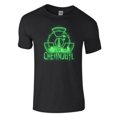 Chernobyl póló (Fekete)