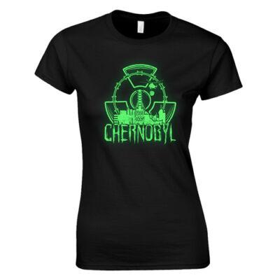 Chernobyl női póló (Fekete)