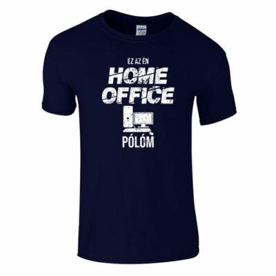 Home office póló (sötétkék)