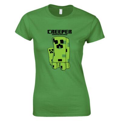 Creepus Explodus MC női póló (Zöld)