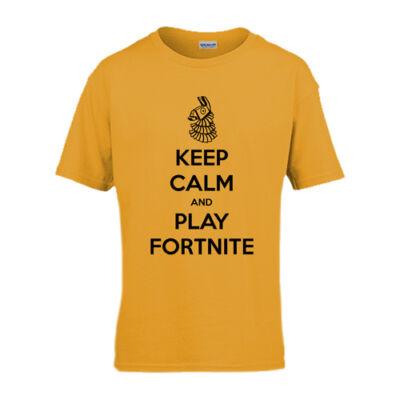 Keep Calm FN gyerek póló (Narancs)