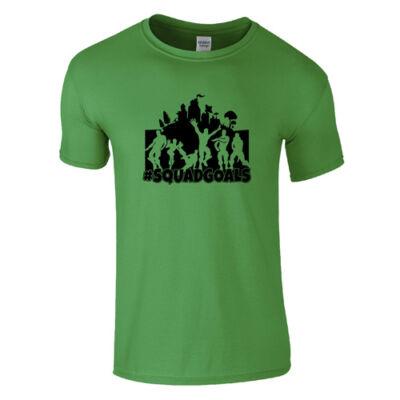 #Squadgoals FN póló (Zöld)