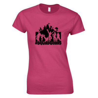 #Squadgoals FN női póló (Rózsaszín)