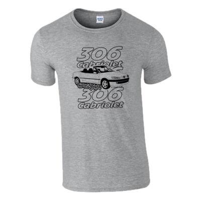 306 cabrio póló (Szürke)