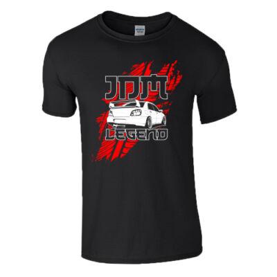 JDM Legend póló (Fekete)
