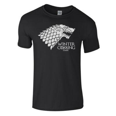Trónok harca - Stark póló (fekete)