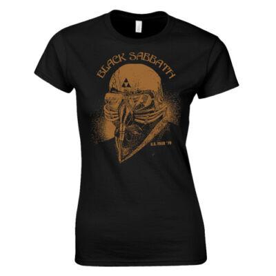 Black Sabbath női póló (fekete)
