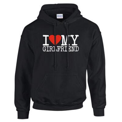 I love my Girlfriend páros kapucnis pulóverSegítség Mentés Ment és szerkeszt Ment és új Mégse (fekete)