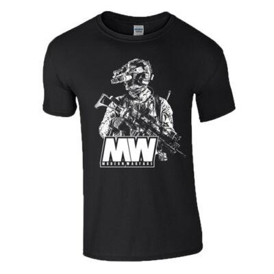 COD Modern Warfare férfi póló(fekete)