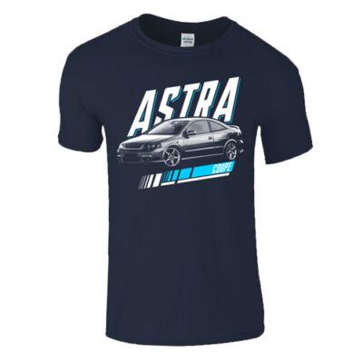 G Astra Coupe férfi póló (sötétkék)